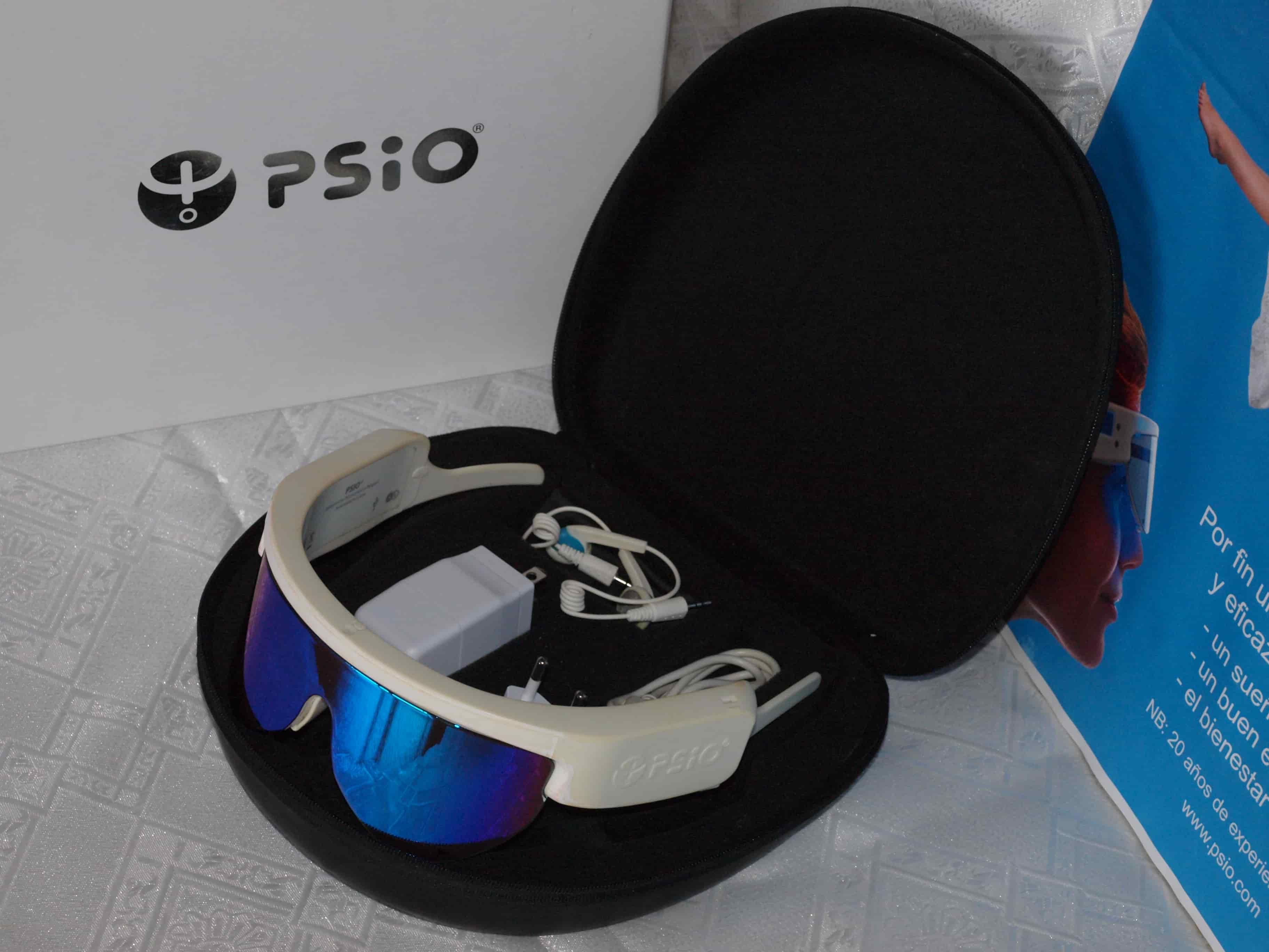 gafas de luminoterapia PSiO - gafas de luz azul