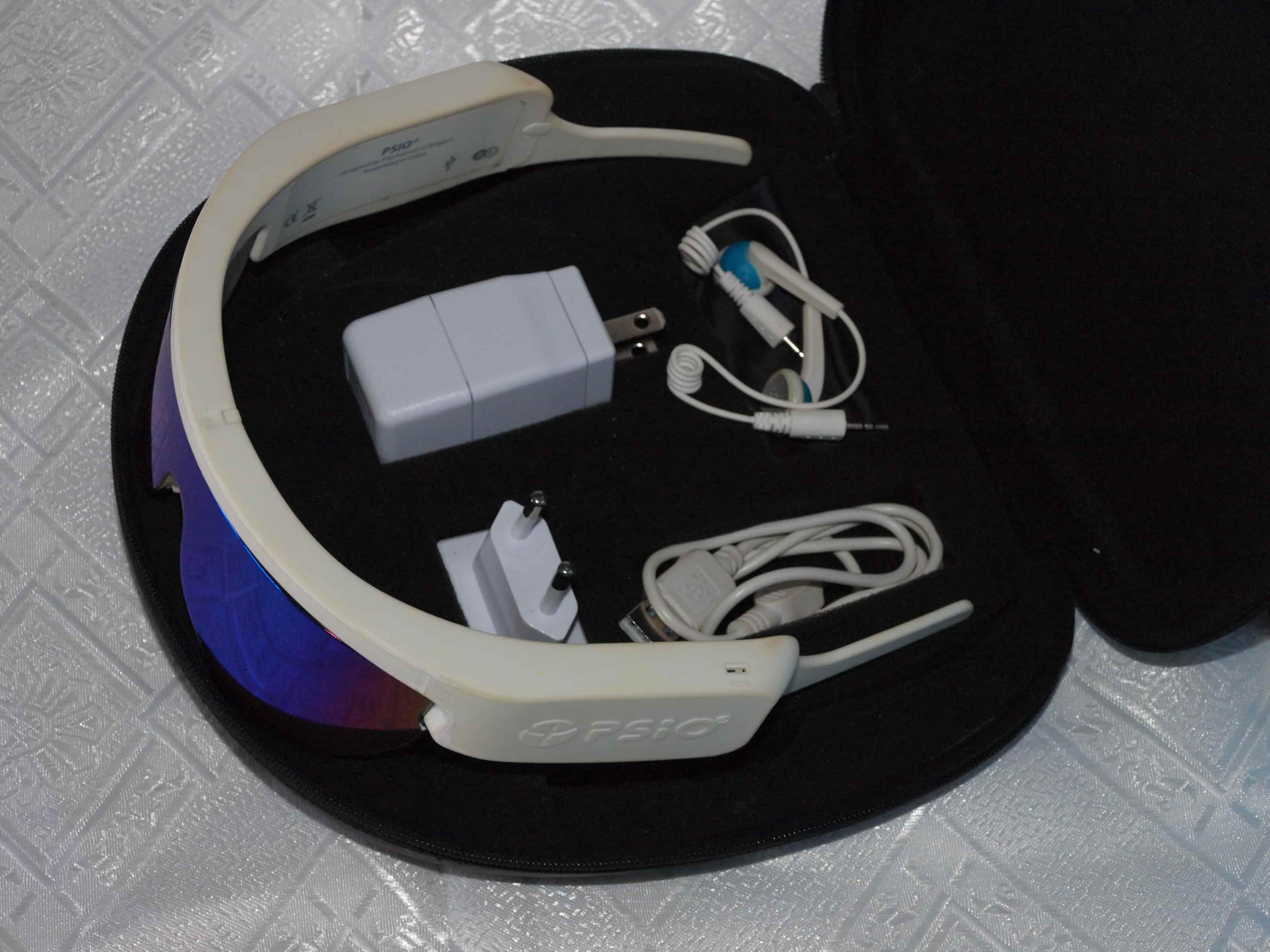 gafas de luminoterapia PSiO - musicoterapia
